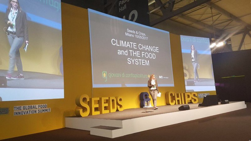 "Chiara Sattin al Seeds and Chips (Global Food Innovation Summit) del 10 Maggio a Milano, sul tema ""Climate change and the food system"""